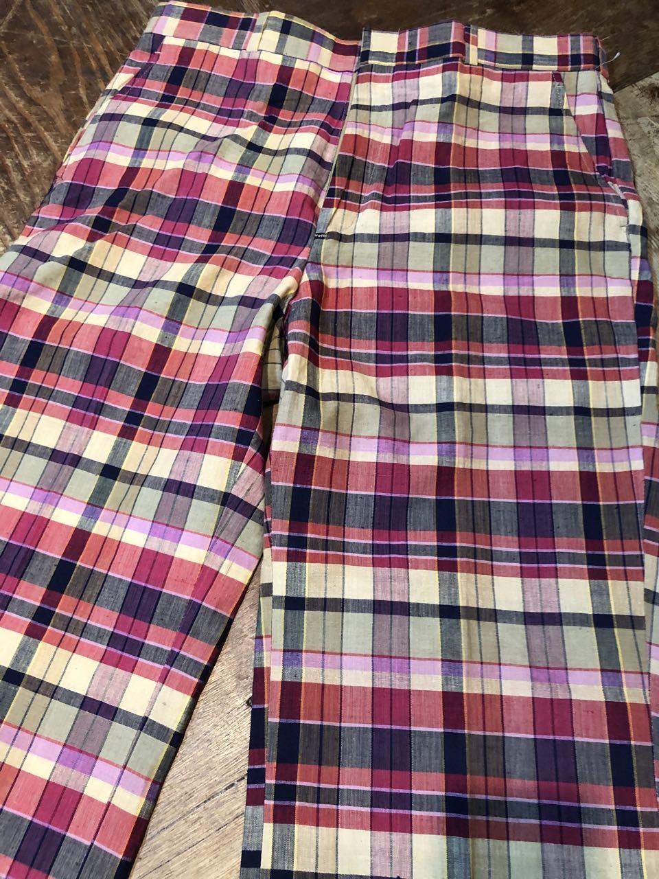 3月23日(月)入荷!80s  デッドストック Made in U.S.A インディアンマドラス IVY スラックス!_c0144020_13255533.jpg