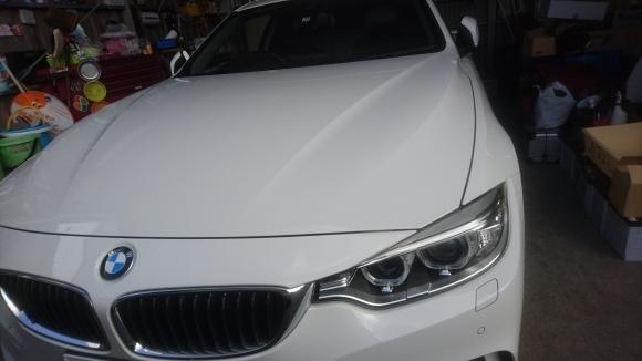 BMW カーフィルム施工 ボディコーティング 大阪 貝塚_a0197623_15291761.jpg