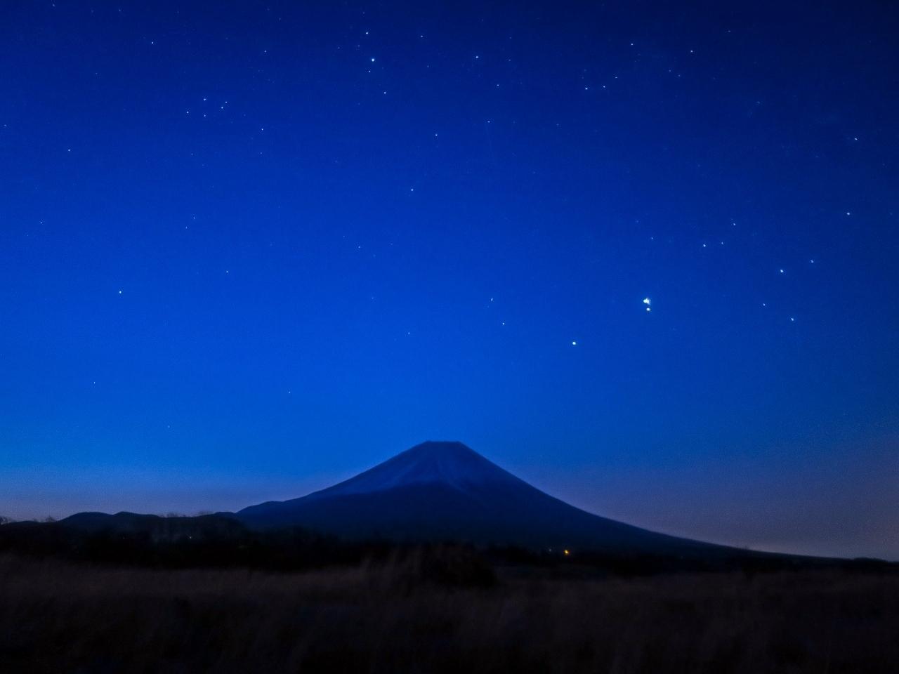 2020.3.21早朝の富士山(朝霧高原)_e0321032_14102571.jpg