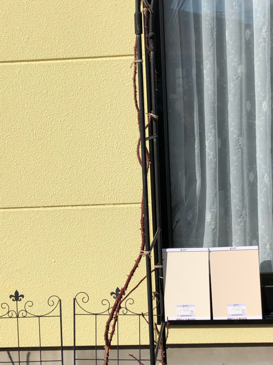 外壁塗装⑭鳥の子色の外壁_c0359445_18252033.jpg