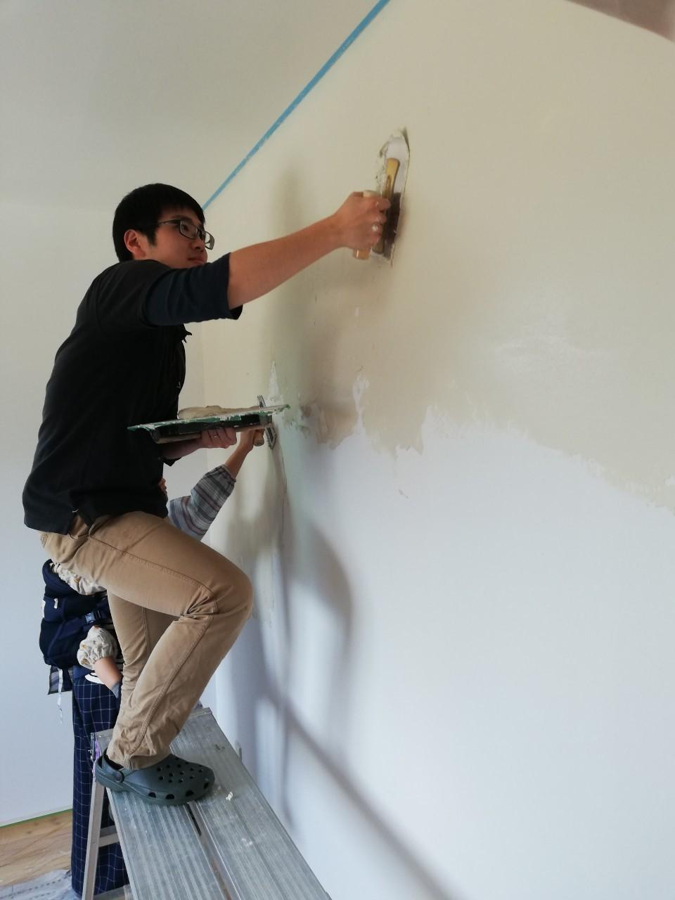 DIYで漆喰塗り♪_b0129758_10202716.jpg