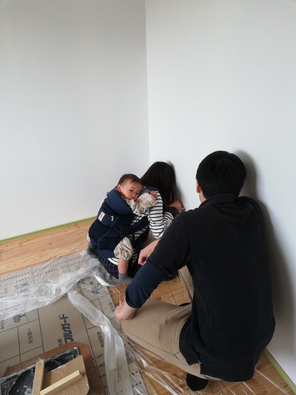 DIYで漆喰塗り♪_b0129758_10203845.jpg