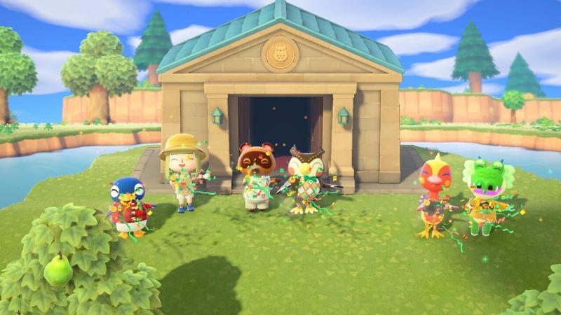 ゲーム「あつまれどうぶつの森 博物館オープン&シーラカンス釣り上げたぞ!!」_b0362459_22180016.jpg