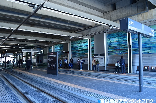 市内電車の乗り場~富山駅から乗る場合~_a0243562_16370771.jpg
