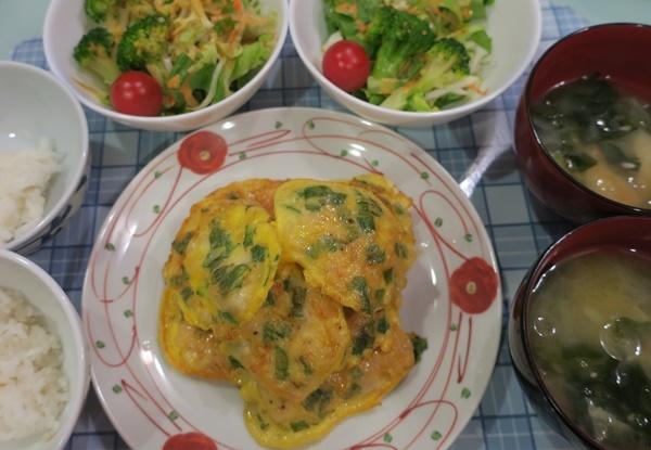 鶏胸肉の大葉チーズピカタ_b0404662_17133429.jpg