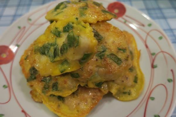 鶏胸肉の大葉チーズピカタ_b0404662_17133775.jpg