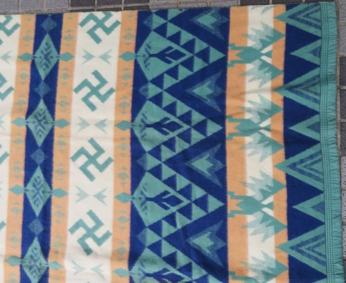 30\'s Beacon Blanket Swastika + 明日、水曜日は店休日となります。_e0187362_12444741.jpg