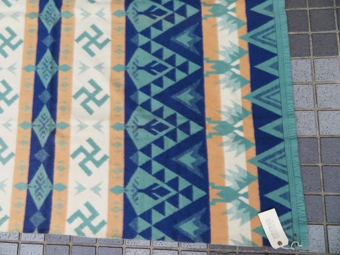 30\'s Beacon Blanket Swastika + 明日、水曜日は店休日となります。_e0187362_12480721.jpg