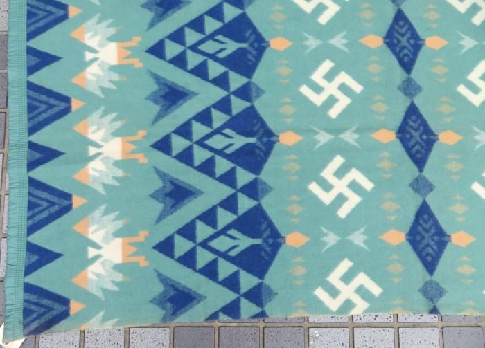 30\'s Beacon Blanket Swastika + 明日、水曜日は店休日となります。_e0187362_12501580.jpg