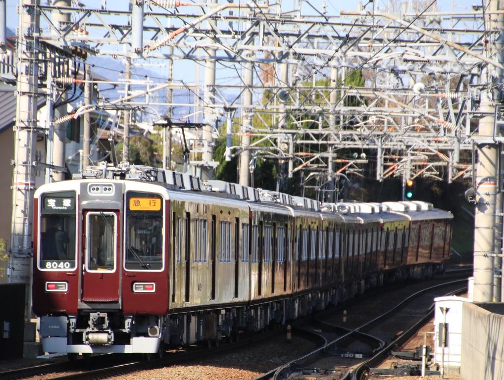 阪急8040系 8040F 急行運用_d0202264_13142468.jpg