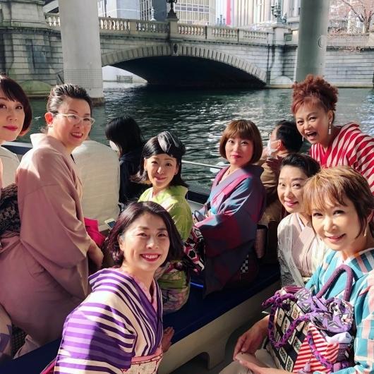 日本橋からお花見クルーズ〜!_b0223370_12345892.jpg
