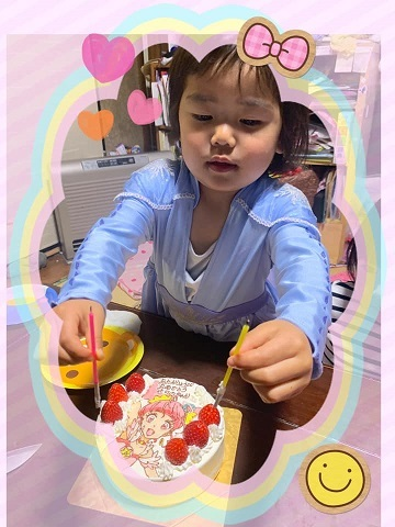 お花見&誕生会_e0040673_10095221.jpg
