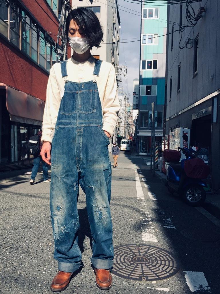 マグネッツ神戸店 3/25(水)Vintage Bottoms入荷! #8 Over All!!!_c0078587_15482326.jpg