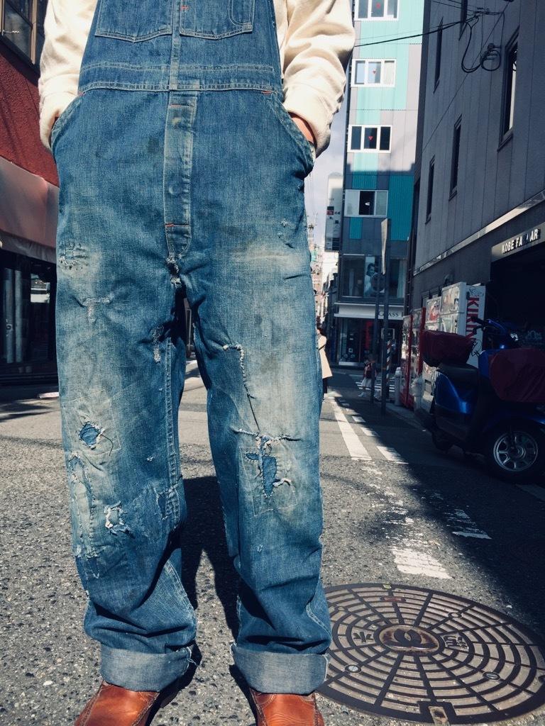 マグネッツ神戸店 3/25(水)Vintage Bottoms入荷! #8 Over All!!!_c0078587_15482339.jpg
