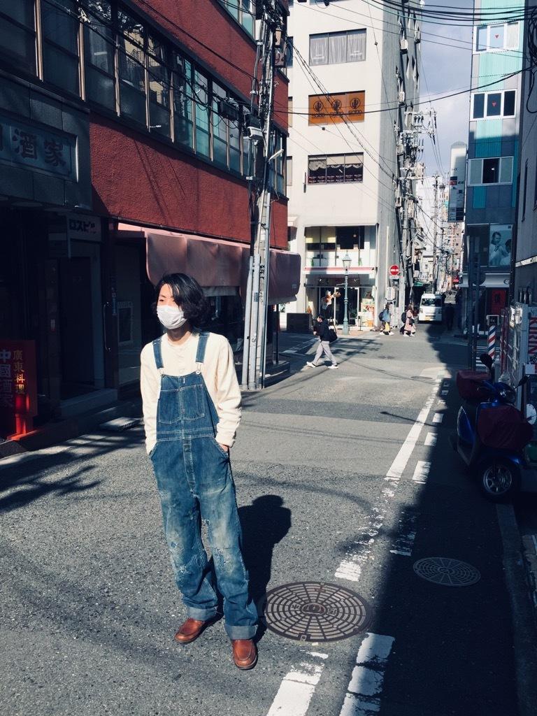 マグネッツ神戸店 3/25(水)Vintage Bottoms入荷! #8 Over All!!!_c0078587_15482365.jpg