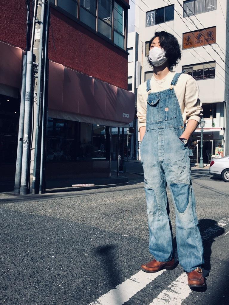 マグネッツ神戸店 3/25(水)Vintage Bottoms入荷! #8 Over All!!!_c0078587_15534688.jpg