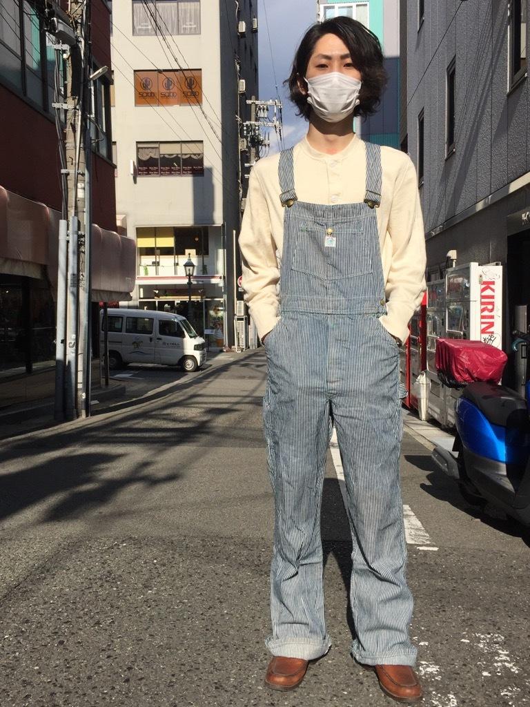 マグネッツ神戸店 3/25(水)Vintage Bottoms入荷! #8 Over All!!!_c0078587_16083192.jpg