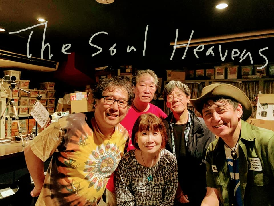 THE SOUL HEAVENS Vs RED POINT BLUES BAND LIVE in BLUE HEAT_d0158887_18400931.jpg