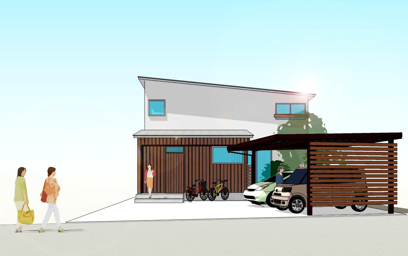 オープンハウス開催! 畳リビングから二つの庭を愉しむ住まい_b0349892_08262808.jpg