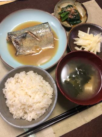サバの味噌煮_d0235108_20395553.jpg