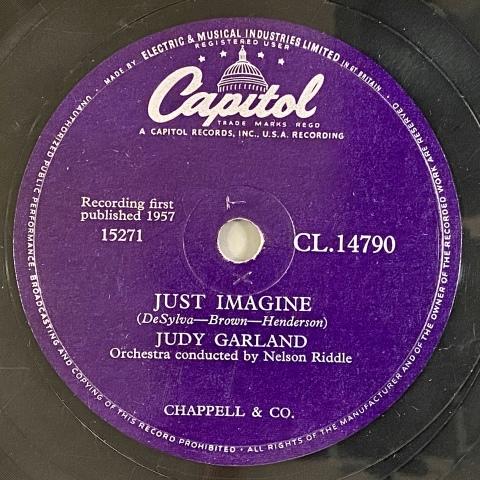 ジュディ・ガーランドのSP盤をアップしました_a0047010_12125649.jpg