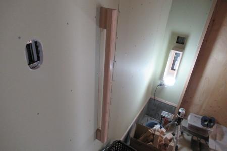 「駒場の家」左官外壁完了_b0179213_19123274.jpg