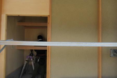 「駒場の家」左官外壁完了_b0179213_19123898.jpg