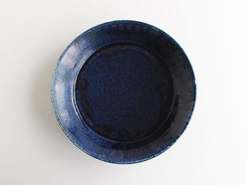梅本勇さんの紺色のうつわ。_a0026127_14522027.jpg
