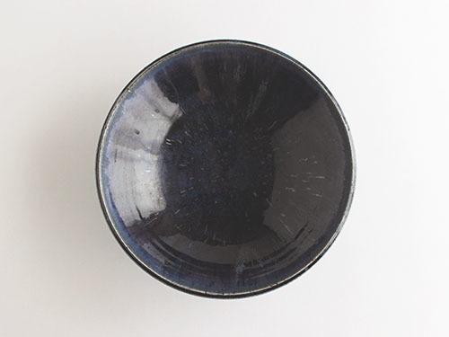梅本勇さんの紺色のうつわ。_a0026127_14522041.jpg