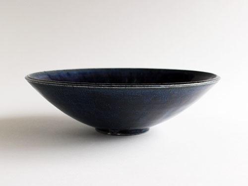 梅本勇さんの紺色のうつわ。_a0026127_14522069.jpg