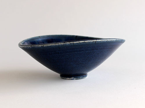梅本勇さんの紺色のうつわ。_a0026127_14522348.jpg