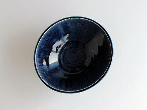 梅本勇さんの紺色のうつわ。_a0026127_14522386.jpg