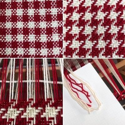 手編み用毛糸で織る 1_a0074130_20315810.jpeg