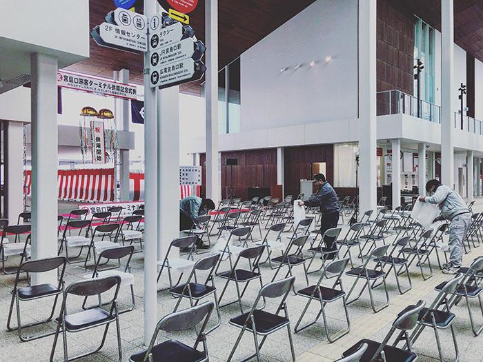宮島口旅客ターミナル / iPhone 8_c0334533_10094157.jpg