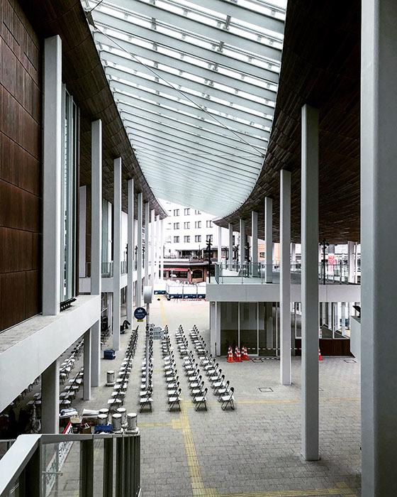宮島口旅客ターミナル / iPhone 8_c0334533_10095909.jpg