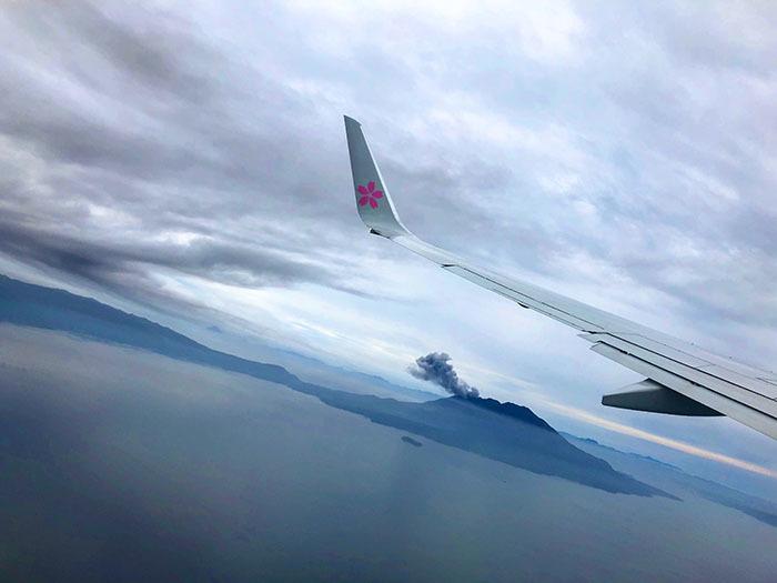 SKY301便(羽田→鹿児島) / iPhone 8_c0334533_10160640.jpg