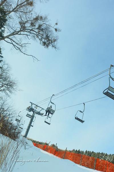 暖冬SEASON①**2月の初滑り_b0197639_16130341.jpg