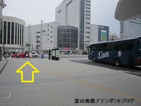 市内電車の乗り場~電鉄富山駅から乗る場合~_a0243562_11114452.jpg