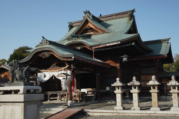 国宝彦根城、桜は? +千代神社_b0173867_17205974.jpg