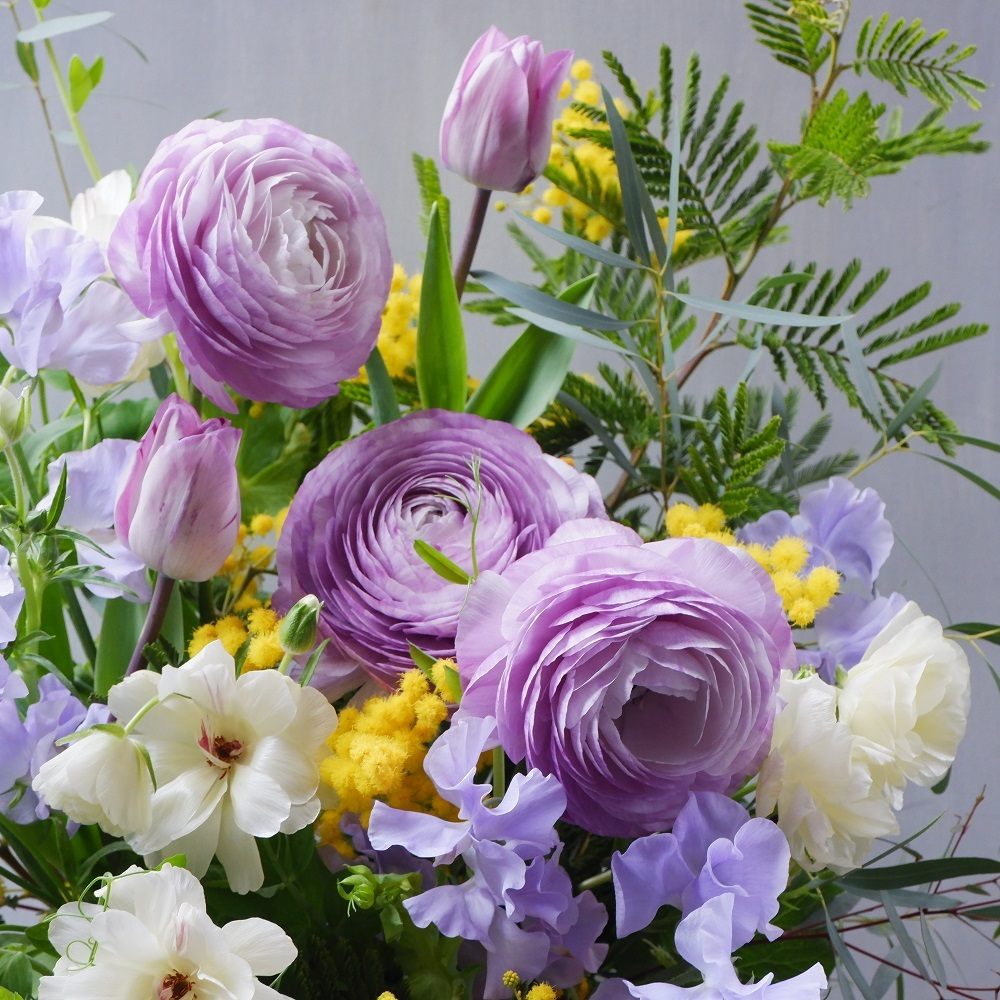 オークリーフ(卒園式の演台装花)_f0049672_13251597.jpg