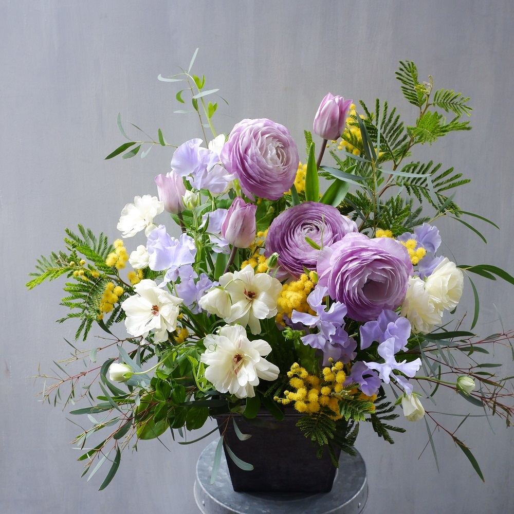 オークリーフ(卒園式の演台装花)_f0049672_13251875.jpg