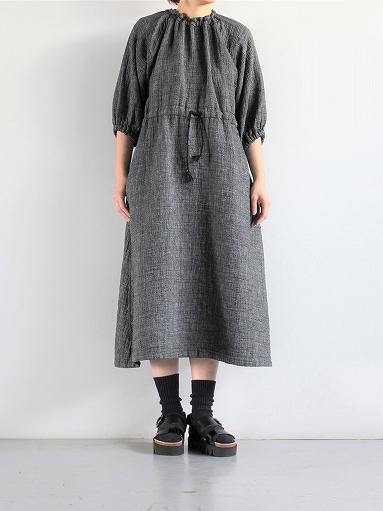 Porter Classic SASHIKO LINEN PREMIUM ONE PIECE (LADIES)_b0139281_16162523.jpg
