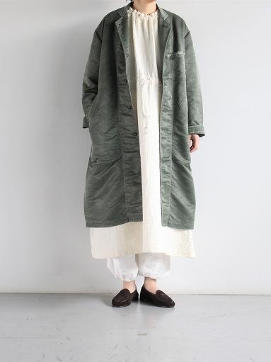 Porter Classic SASHIKO LINEN PREMIUM ONE PIECE (LADIES)_b0139281_16195151.jpg
