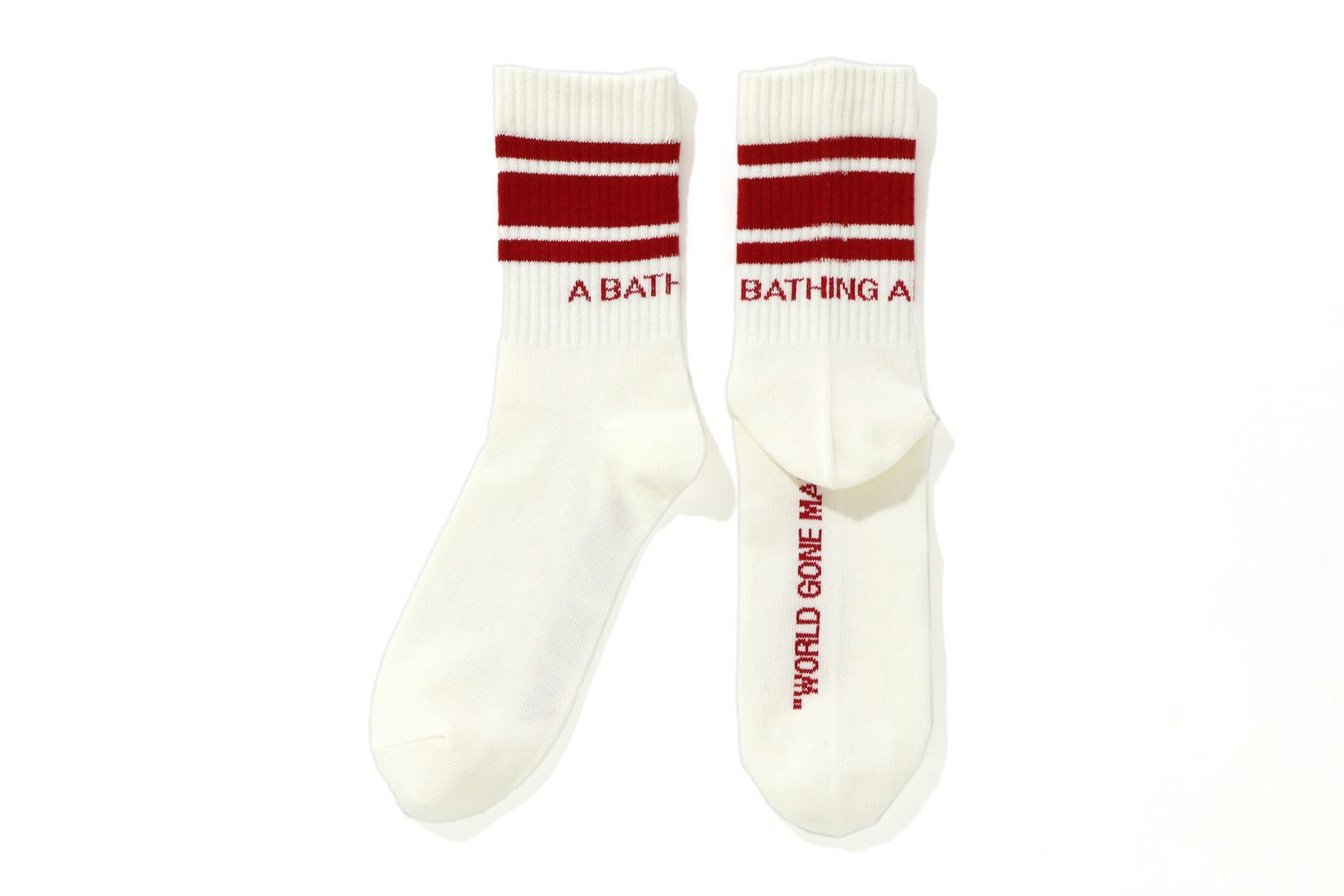 A BATHING APE® LINE SOCKS_a0174495_17461939.jpg