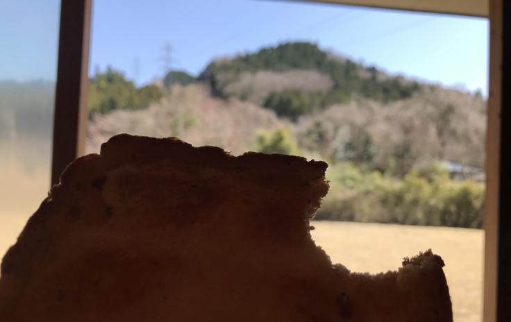 宮ヶ瀬ブルーと草抜きと山ごはん_c0212604_1463239.jpg