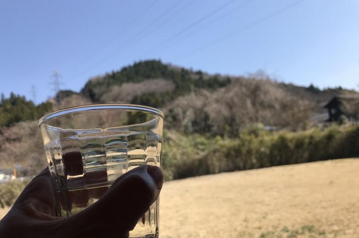 宮ヶ瀬ブルーと草抜きと山ごはん_c0212604_147174.jpg