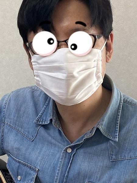 生徒さんの作品と必要に迫られて制作したマスクをご紹介します。_c0319009_10532803.jpg
