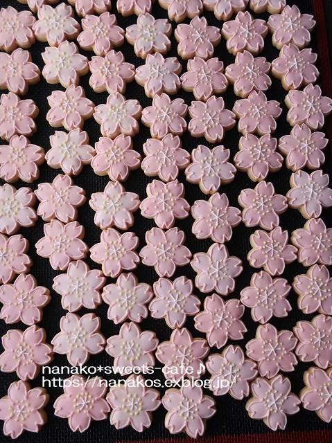 桜のアイシングクッキー出来ました_d0147030_21243855.jpg
