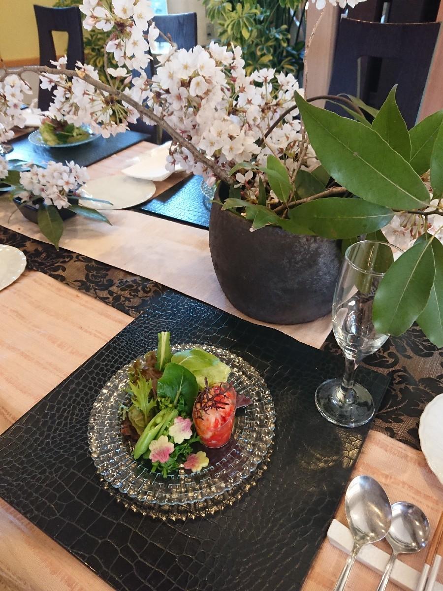 桜満開🌸つくば「ここちテリア」で…「陶芸体験イベント」_f0323446_20451287.jpg
