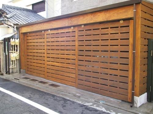 木製ガレージ_c0019551_19574010.jpg